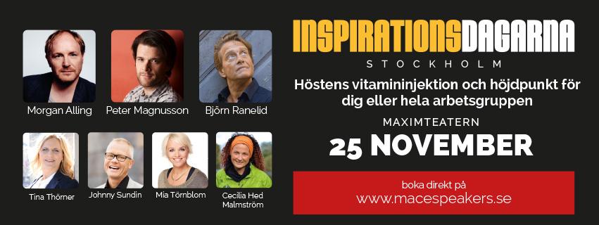 Inspirationsdag Stockholm - Tina Thörner